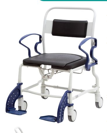 STALHAM Bariatric Commode/Shower chair